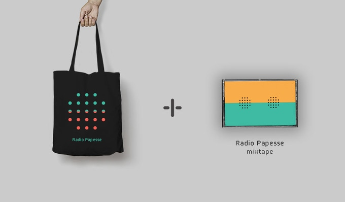 get a limited series TOTE BAG and MIXTAPE with a €50 pledge