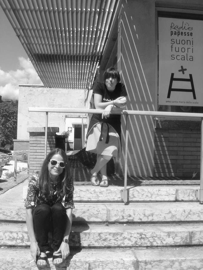 Ilaria & Carola @ Manifesta 7 || Bolzano 2008