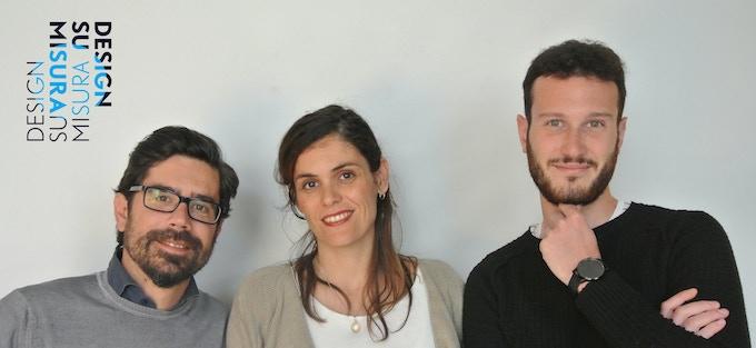 DESIGNSUMISURA finclip project team: Alberto, Jannu, Lorenzo