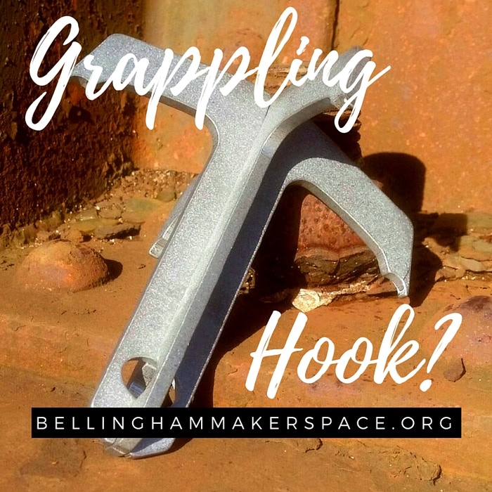 Stainless Steel and laser cut Grappling Hooks...