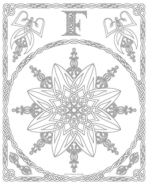 Color Your Own Tarot Deck & Art Nouveau Coloring Book by