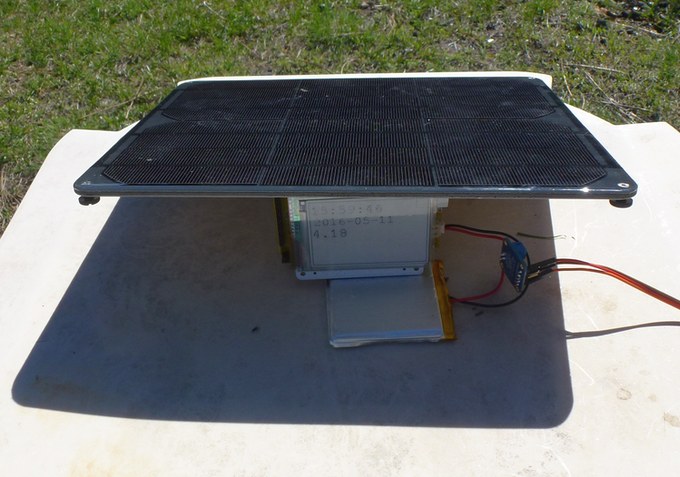 Designed to easily work with commonly available 3W, 4.5W, 6W and 9W solar panels