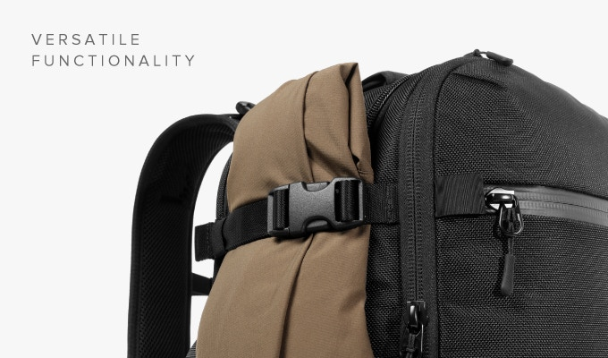 Use the side compression straps to transform the bag from a carry-on  backpack to a daypack or use them to hold your jacket in a pinch. e794d97d41