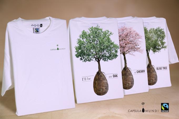 Le t-shirt di Capsula Mundi