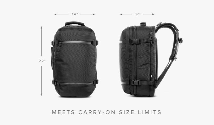 Aer Travel Pack  The Ultimate Carry-on Backpack by Aer — Kickstarter 0e03b3cb02