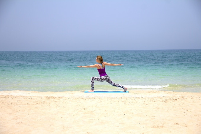Yasmine helped Maria with social media in exchange of yoga classes on the beach in Malaysia