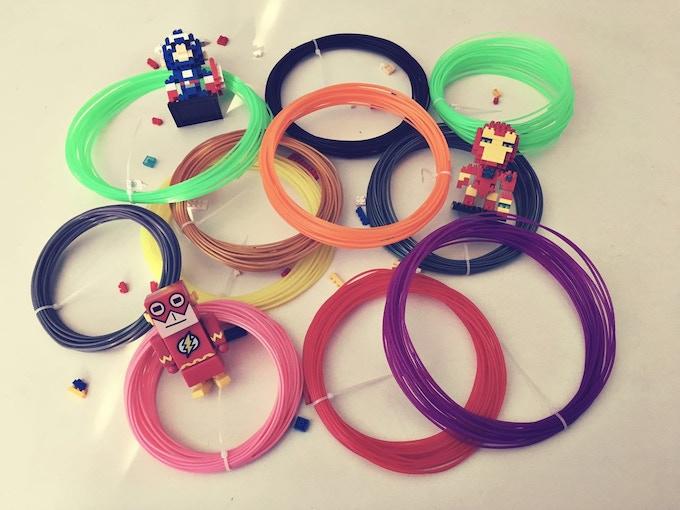 101Hero Filaments Spools
