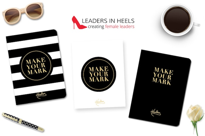 Elegant & inspirational notebook, notepad and journal that help you create daily habits to nurture and empower the leader inside you.