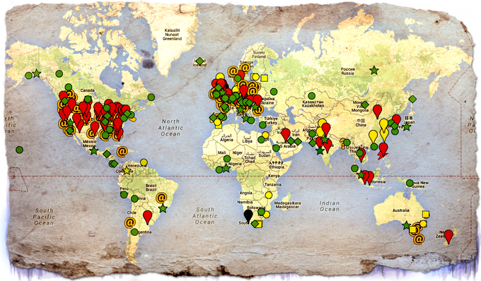 CLICK HERE TO SEE THE MAP OF GLOBAL HAUNTINGS