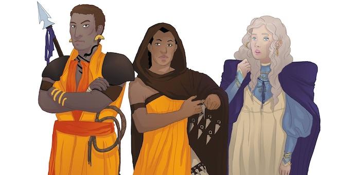 Y'know - actual characters (Credit: Teela Wyman)