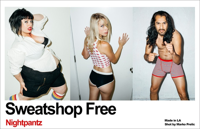 $100: Your very own faux-American Apparel ad