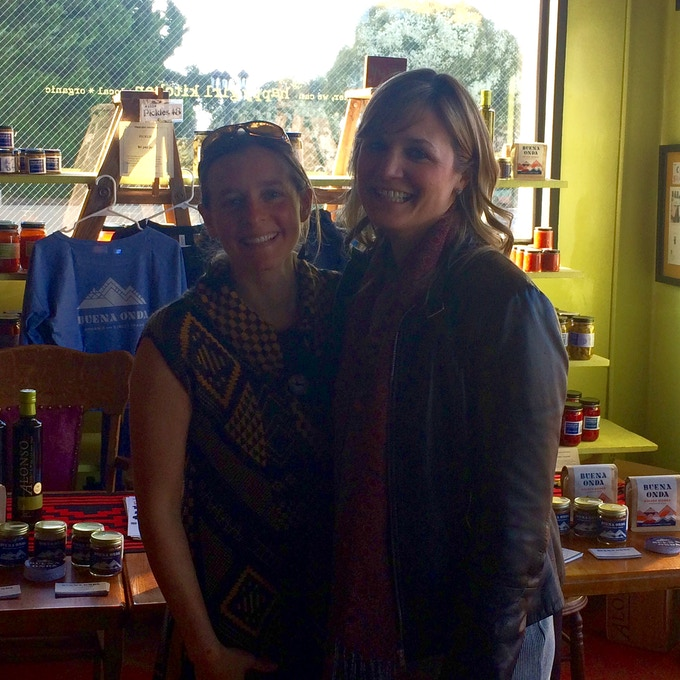 Founders: Val and Katie