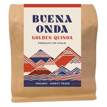 Organic Golden Quinoa - a new, fluffy, absorbent variety