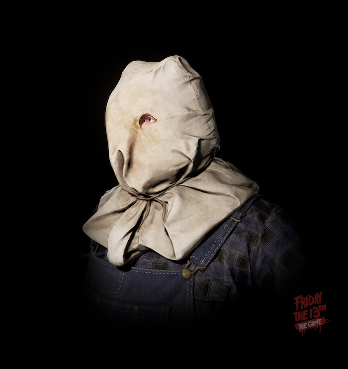 From out of the shadows... Sackhead Jason!
