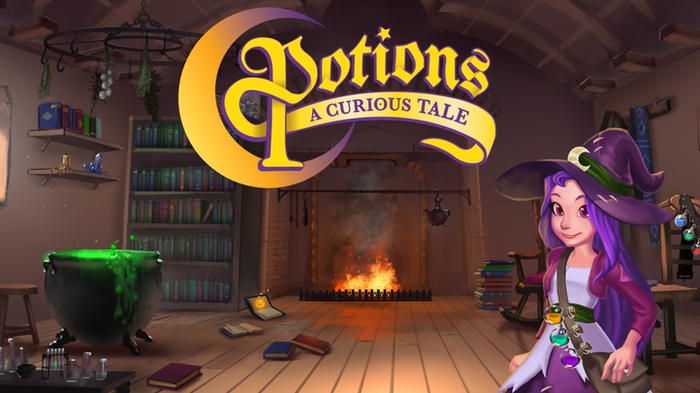 Potions a curious tale by stumbling cat kickstarter adventure through an enchanted world where your wits are your greatest weapon and combat is not sciox Image collections