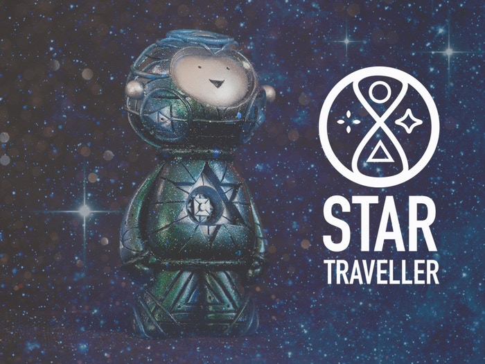 Help launch the new sculpture from Muju Studio.  A handmade resin figure inspired by intergalactic space travel.