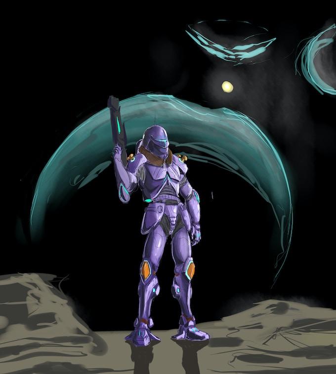 <Galvanic armor: Low gravity environments>