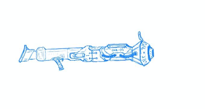 <DNA-Gun Early concept>