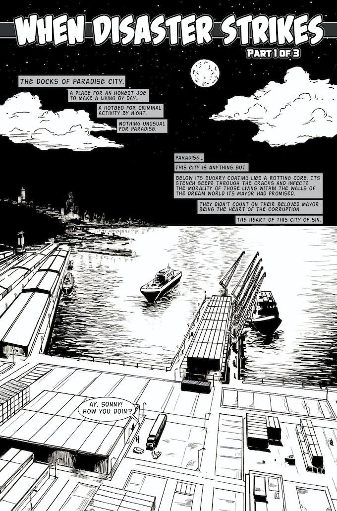 "Issue #1 ""When Disaster Strikes"""