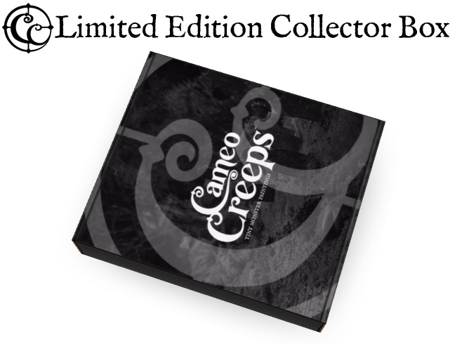 """Each Limited Edition """"Ghost"""" Variant and Original Art comes in a sleek, satin finish, black and white Collector Box."""