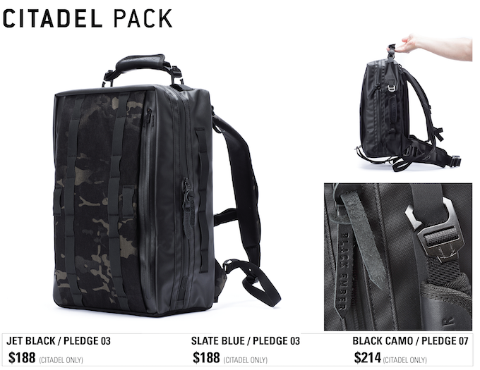 a9c9964d925a BLACK EMBER MODULAR BACKPACKS by Black Ember — Kickstarter