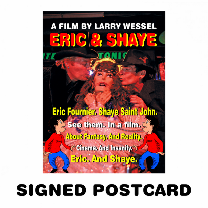 SIGNED POSTCARD (4 x 6 Postcard Signed by Larry Wessel)