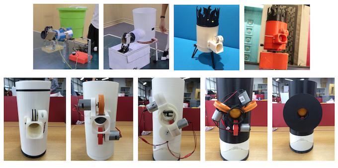 Past prototypes