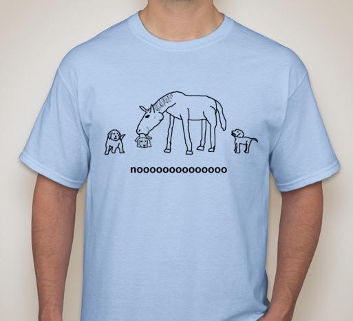 Horses Eating Puppies T-Shirt
