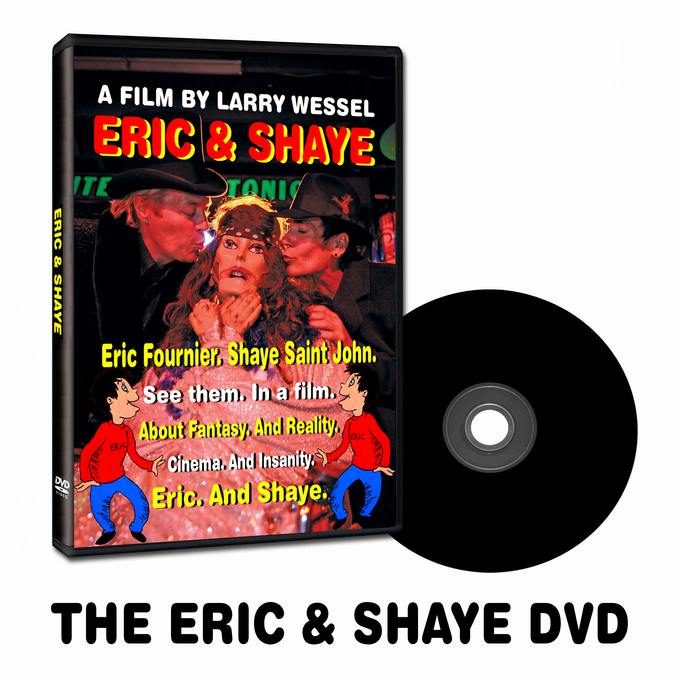 THE ERIC & SHAYE DVD (Signed by Larry Wessel)