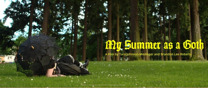 My Summer As A Goth is an empowering, funny tale about how we try on new identities in order to figure out who we really are.