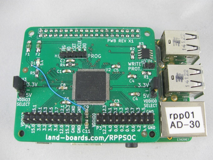 RPPSOC - System on a Chip for the Raspberry Pi by Doug