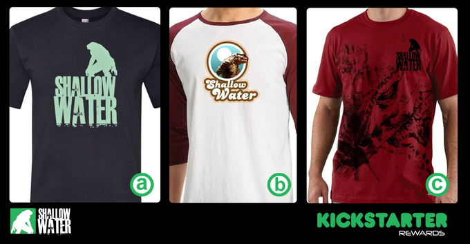 T-shirts! Pick your favorite one!