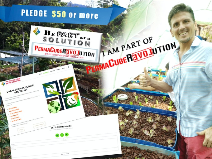 Pledge $50 USD or more = Bumper Stickers + Free Affliate Link