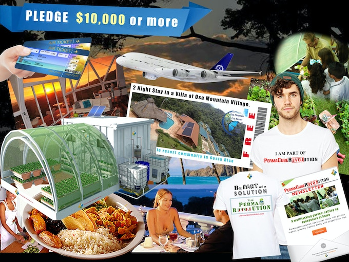 Pledge $10,000 or more = (1) PRC Unit + 2 night stay at Osa Mountain Village + $1,000 USD towards flight and expenses