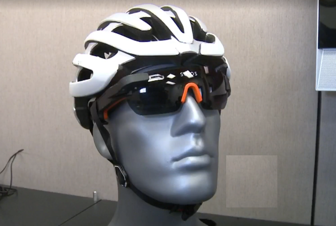Our designers had to take into account helmets and other Cycling gear