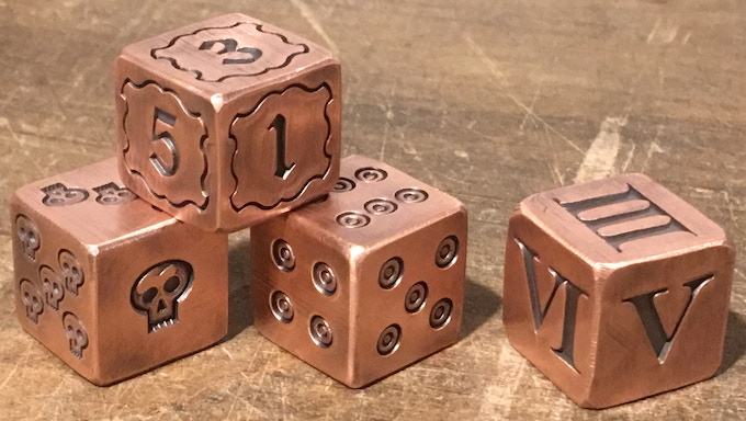 Finished Dice!