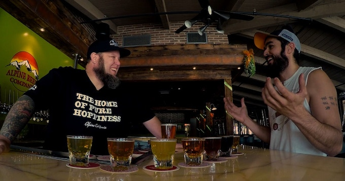 Our Alpine Brewing Co. episode with Bobby Mathews
