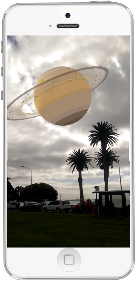 The solar system in your local park