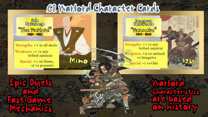 Who they defeated, who defeated them and how they died... your warlord's characteristics will determine your strategy.