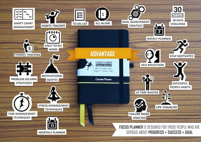 Advantage of focus planner
