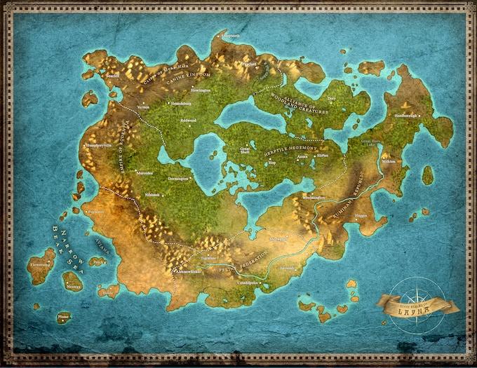 Layna Map