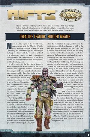 Rifts For Savage Worlds By Shane Hensley Kickstarter