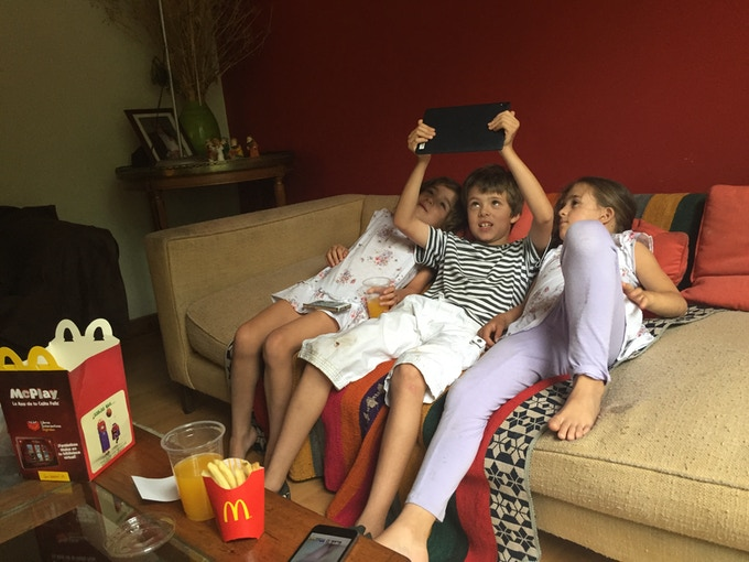 Kids and Adults alike are stuck on couches playing games for too long
