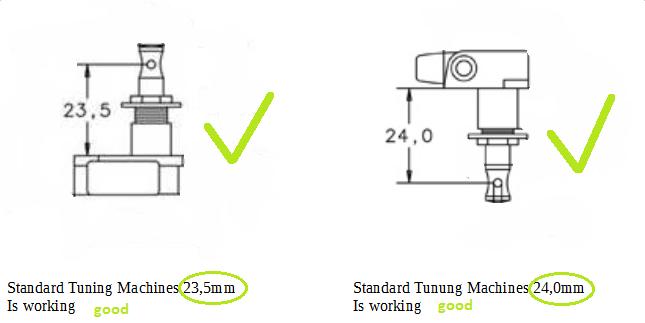 Standard Tuning Machins is working