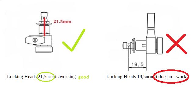 Locking  Machine Heads !