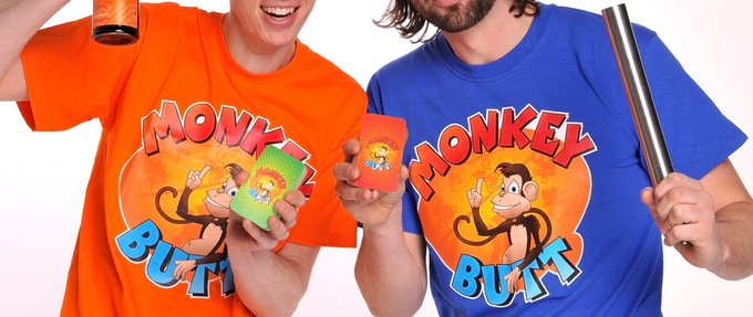 Your Orange or Blue shirt would look a lot like these, see the video for the white one ;)