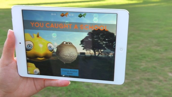 Sharks in the Park uses cutting edge technology
