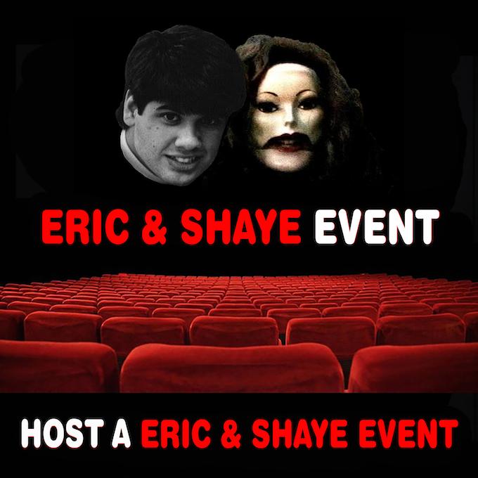 Host a Eric & Shaye Event!