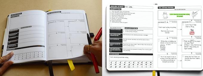 Month goal setting & strategies