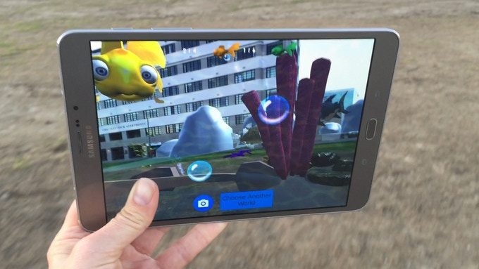 Sharks in the Park is the introduction to Outdoor Mobile Gaming
